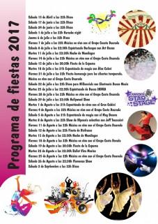 Programa de fiestas 2017